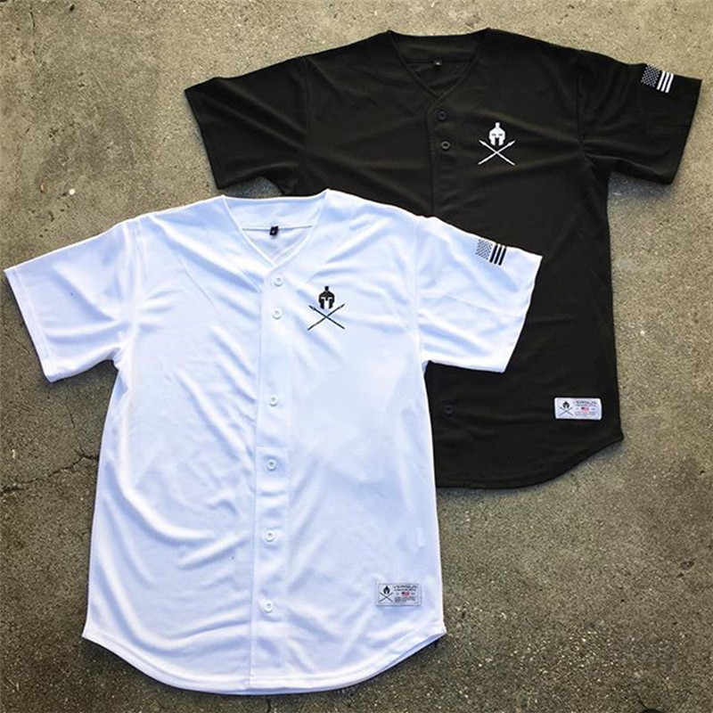 Joggers T Shirt Sports Top Men Short Sleeve Running T-shirt Fitness Bodybuilding Cotton Gym Sweatshirt Male Black Shirt Baseball