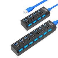 Mini USB HUB 3 0 Super Speed 5Gbps 4 7 Ports Portable Micro USB 3 0