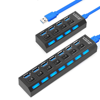 Mini USB HUB 3 0 Super Speed 5Gbps 4 7 Ports Portable Micro USB 3 0