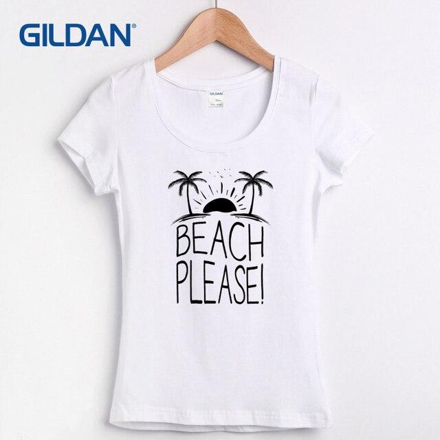 7305530725f4 Best women s Tee Shirt 2017 Beach Days Printed T Shirt Online Shop Summer T-Shirt  Store 100% Cotton