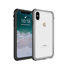 Phone case waterproof for iPhone Xs Max Transparent Shockproof Snowproof Case 6.5 inch IP68 Waterproof