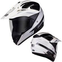 Хит ECE DOT CCC одобренный анфас ралли гоночный шлем черный/белый-взрослый размер x-большой
