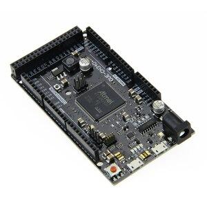 Image 4 - שחור עקב R3 לוח DUE CH340 ATSAM3X8E עיקרי זרוע בקרת לוח עם CH340G עבור arduino