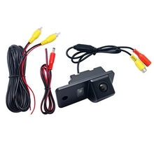 Car Reverse Rear View Camera Backup Waterproof Night Vision Rearview For Audi A3 A4 A6 A8 Q5 Q7 A6L Vehicle