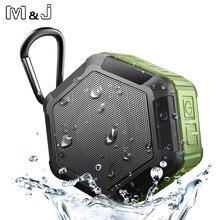 M & J мини портативный для улицы спортивный Беспроводной IP67 Водонепроницаемый Bluetooth динамик для душа динамик для велосипеда для телефона играть в воде