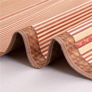 Image 3 - 100 natural bamboo mats, summer gives you a cool feeling  folding wrapping 0.9/1.2/1.5/1.8 /2 m bamboo mat