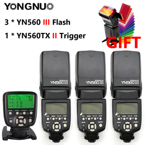Image 1 - YONGNUO YN560III YN560 III YN560 III Flash sans fil Speedlite pour Canon Nikon Olympus Pentax Fuji Sony appareil photo reflex numérique
