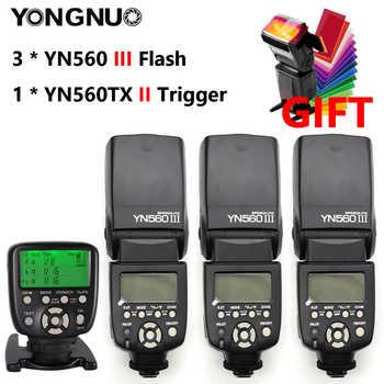 YONGNUO YN560III YN560-III YN560 III Wireless Flash Speedlite Speedlight For Canon Nikon Olympus Pentax Fuji Sony DSLR Camera - DISCOUNT ITEM  35% OFF All Category