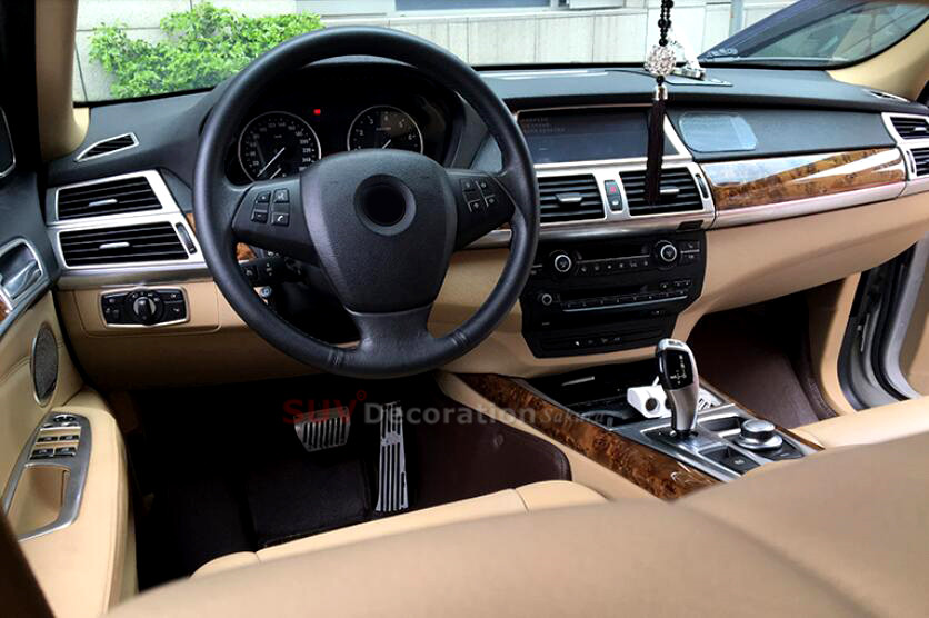 For Bmw X6 E71 2008 2009 Only For Left Hand Drive Stainless Chrome