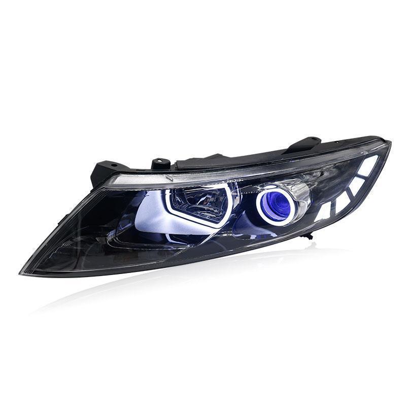 Pièces Styling Assessoires Neblineros Par Auto Drl Feux de jour Led De Voiture Éclairage Phares Avant Brouillard Feux Arrière Pour Kia K5