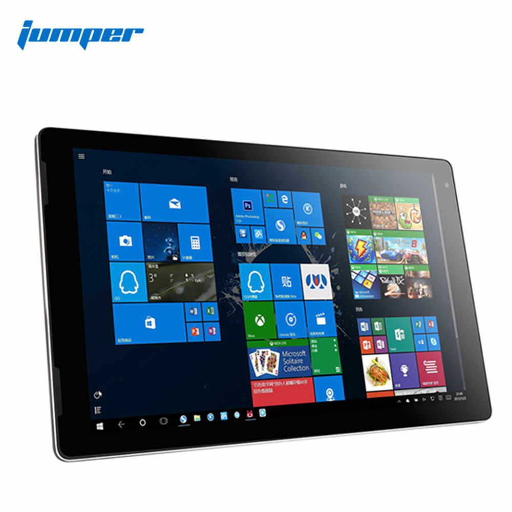 Jumper Ezpad 7 2 Dalam 1 Tablet PC 10.1 Inch Windows 10 64 Bit Intel Cherry Trail Z8350 Quad Core 4 GB RAM 64 GB ROM Mini HDMI Tablet