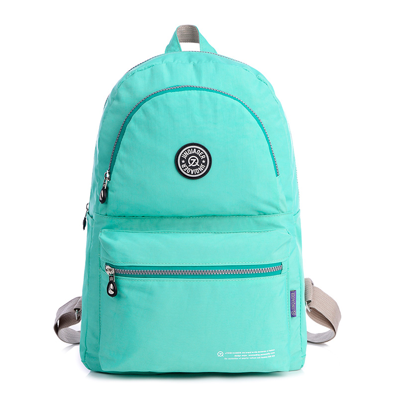 New College Wind Shoulder Bag Casual Simple Backpack High Quality Waterproof Nylon Women Bag Women S