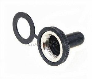 Image 4 - 10 chiếc 12mm Mới Chống Thấm Nước Bật Nắp 15A 250VAC / 20A 125VAC E TEN Nắp Cao Su Thu Nhỏ Công Tắc
