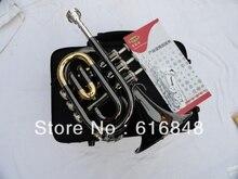 Wholesale– Pocket Trumpet inventory big trumpet, the musical instrument surface Bb palm black