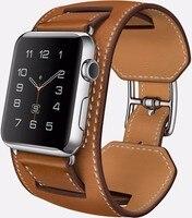 Bracelet Leather Watchband For Apple Watch 1 1 Original Quality Cuff Tour Bracelet Genuine Leather 38