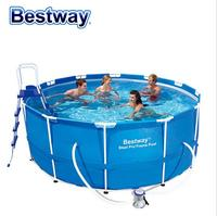 Bestway56420 large family swimming pool children swimming pool for adults thickened round 366 * 122cm