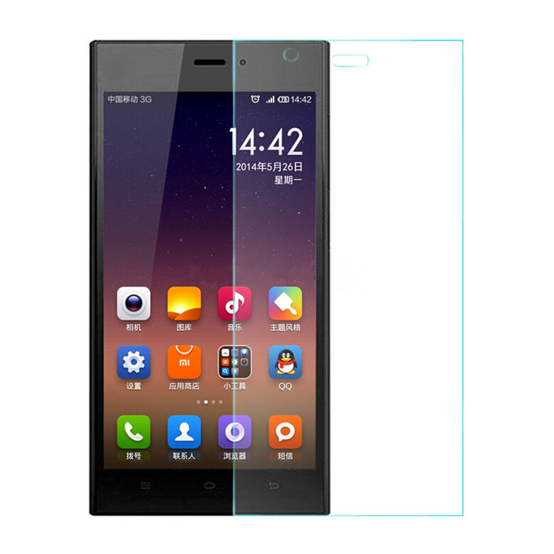9H 2.5D Premium Tempered Glass For Xiaomi MI3 Mi 3 M3 Screen