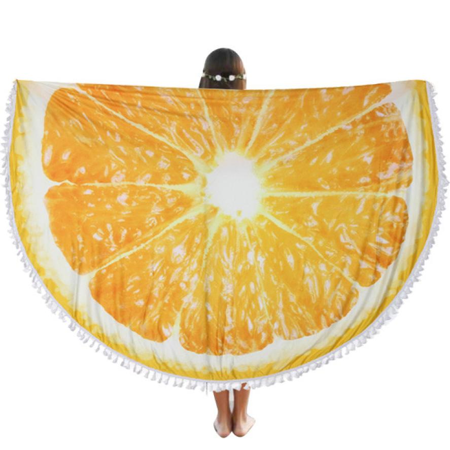 Round Beach Pool Home Shower Towel Blanket Table Cloth Yoga Polyester Mat 150*150cm Dec 28