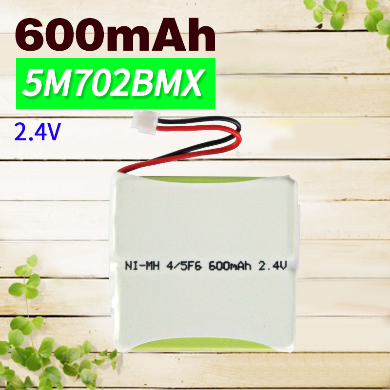 Alert Apexway 2.4v 600mah Ni-mh Cordless Rechargeable Battery 5m702bmx 5m702bmxz Cp77 Gp0735 Gp0747 For Phone Toy Power Source