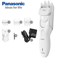 Panasonic Electric Hair Clipper Trimmer ER PGF40 Rechargeable Wet&Dry for Household Adult Children's Hair Shaver (white)