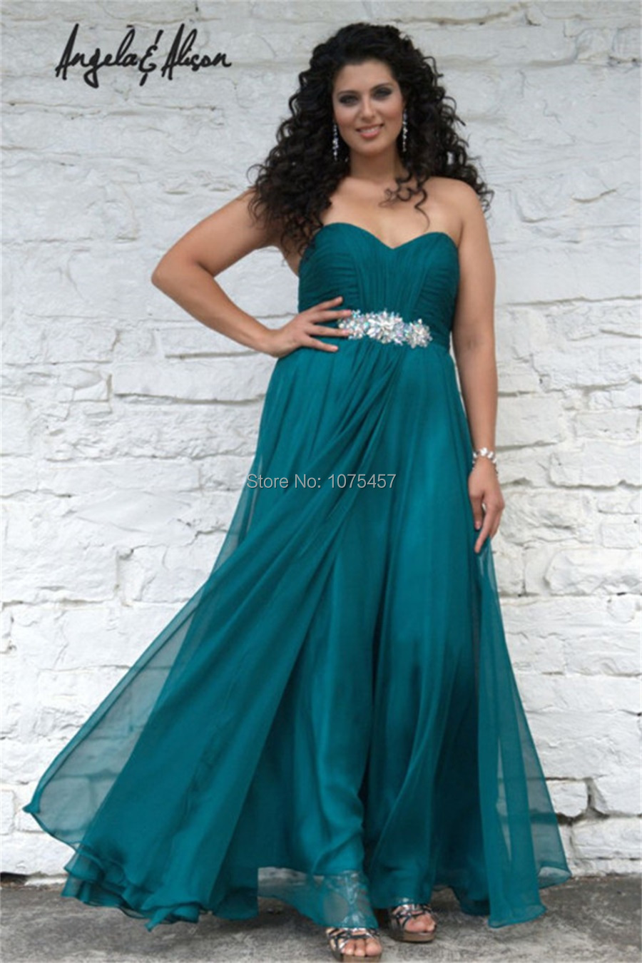 Free Shipping Women Turquoise Prom Dresses Plus Size 2015 Party ...