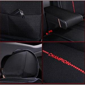 Image 5 - Kokololee funda de tela para asiento de coche, para Toyota rav4 wish Prado hilux mark auris prius camry corolla crown chr Land Cruiser, asientos de coche