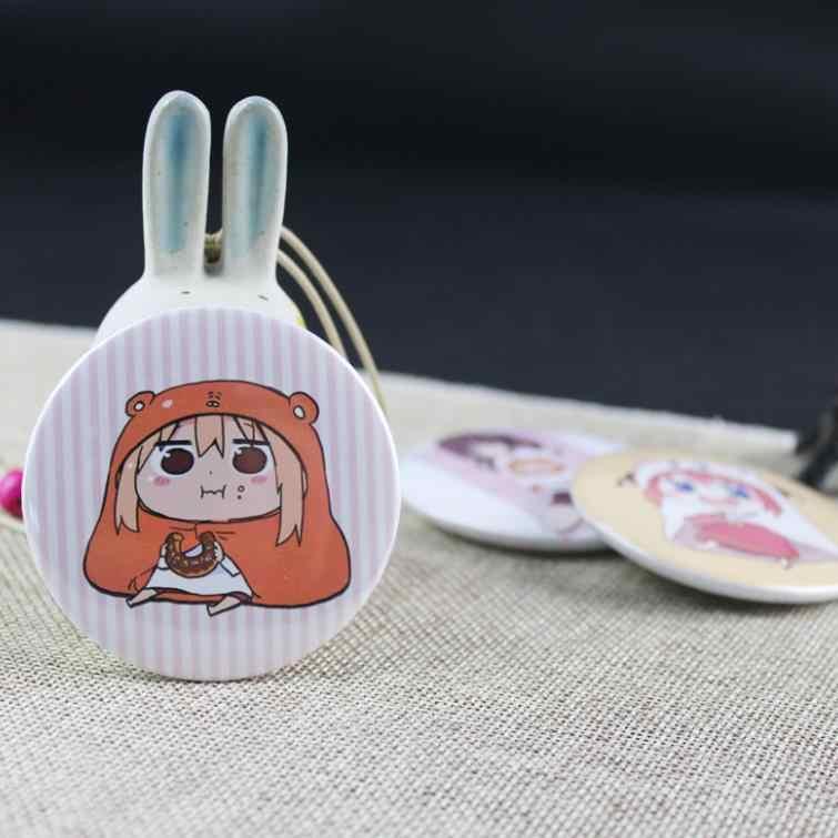 1pc Creative Cartoon Anime Himouto Umaru-chan Badges  fashion  Icons on The Backpack Pin Brooch Badge figure toys gift