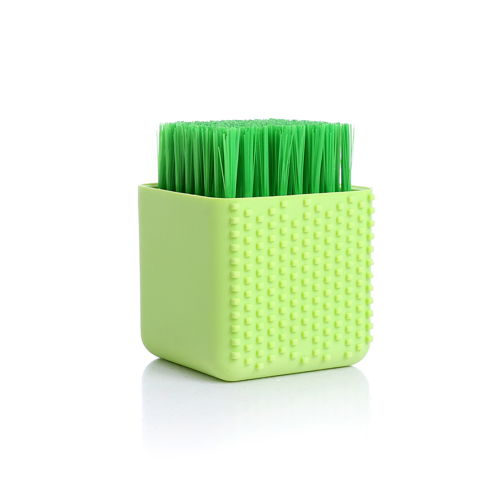 Silicone Cleaning Brush Washing Dish Bowl Brushes Clothes Cleaner Kitchen Tool TB Sale