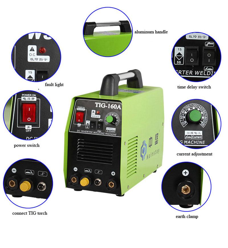 Tig 160 Inverter Dc Tig Mma Welding Machine Machine Distributors Welding Machine Partsmachine Offset Aliexpress