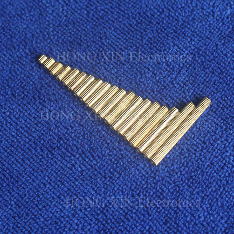M2 * 4 1ชิ้นทองเหลืองขัดแย้งSpacer 4มิลลิเมตรหญิงหญิงS Tandoffsคอลัมน์ทรงกระบอกที่มีคุณภาพสูง1ชิ้นขาย