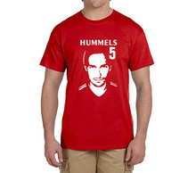 2017 summer hummels T-Shirt Men Short Sleeve O Neck fashion 100% cotton T-shirts fans gift 0221-2