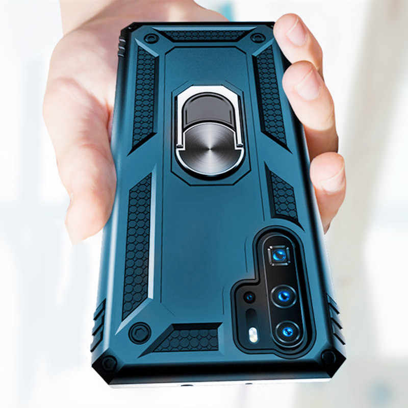 Luxury Armor Soft Case On The For Huawei P30 Pro Mate 20 Honor 10 Lite Shockproof Case For Huawei P Smart 2019 Shockproof Case