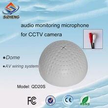 Sizheng cott qd20s регулируемый ПВХ Аудио Микрофон для видеонаблюдения