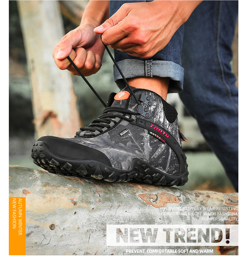 Outdoor Camouflage Tactical Sport Men\`s Shoes (18)