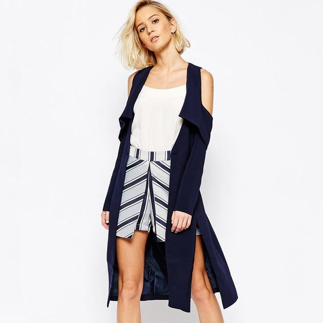 Moda Invierno 2016 Rebeca Sacos Primavera Mujer Nueva Largo La De XZFvwPqnx