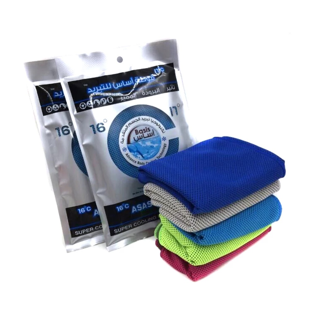Ice Cold Enduring Running Gym Yoga Hiking Cycling Cooling Towel Outdoor Sports