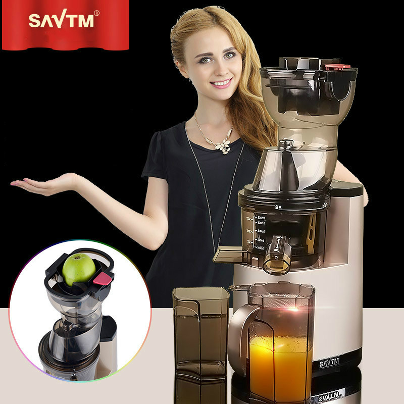 Slow Juicer Savtm : Aliexpress.com : Buy SAvTM Home/Commercial Fruit Electric Whole Slow Juicer Machine with Germany ...