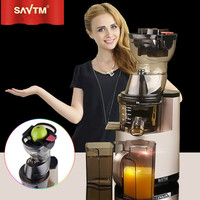 SAVTM Home Commercial Multi Function Electric Slow Juicer Machine Whole Fruit 37 RPM Low Speed Germany