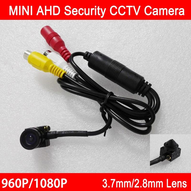 1.3 m/2mp 960 P/1080 P CMOS 2.8mm/3.7mm lens Indoor AHD CCTV Mini Câmeras de vigilância Câmera Com Presente Frete Grátis