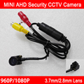 1.3m/2mp 960P/1080P CMOS 2.8mm/3.7mm lens Indoor AHD Mini CCTV Surveillance Cameras Camera With Free Gift Free Shipping