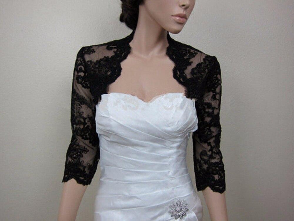 Aliexpress.com : Buy Evening Dresses Coat Bridal Jackets Capes 3/4 ...