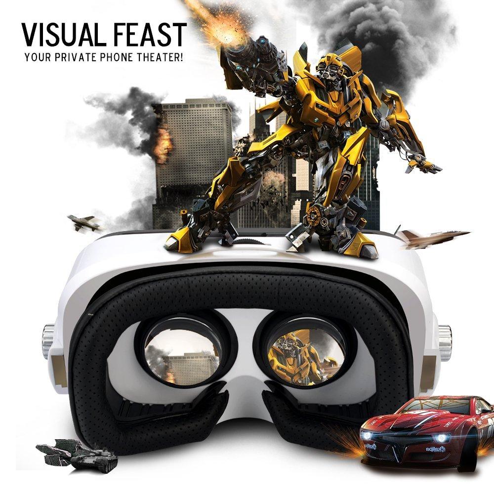 ETVR Z4 Min VR Box i 3D Virtual Həqiqət 4.7-6.2 Smartfon + Gamepad - Portativ audio və video - Fotoqrafiya 6
