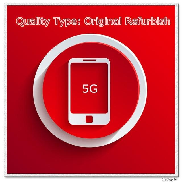 10 pçs/lote Refurbish Originais A Qualidade Da Tela para 5 5G Lcd Preto/Branco