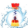 Brinquedos para o Banho do bebê Água-Rotativo-Flow-Observação-Copo Plástico Safe Kids Brinquedos do Jogo Da Água Frete Grátis