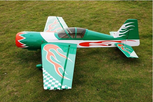 магазин asg для sti lawman green gas RC Airplane Fixed Wing Model Gas 50cc Green 85in/2159mm YAK54 Wood 3D Aerobatic Model ARF IN US