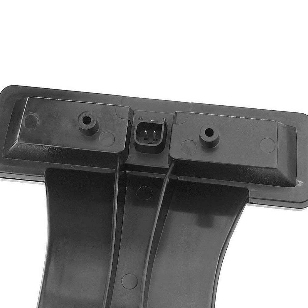 Tercera luz trasera de freno trasero de montaje alto freno luz de freno y freno de rueda de repuesto luz de freno 07-18 para Jeep Wrangler JK lente de humo