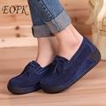Eofk mujeres planas mocasines plataforma de las señoras elegantes suede fringe mujer zapatos mocasines slip on zapatos mocasín borla ocasional de las mujeres