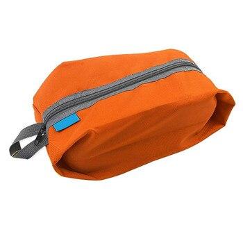 Portable Waterproof Travel Shoe Bag Nylon Foldable Storage Organizer 4