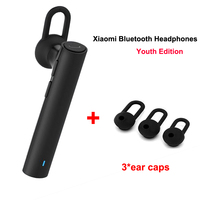 Xiaomi Bluetooth Youth Edition Earphone Headset Bluetooth 4 1 Xiaomi Mi LYEJ02LM Earphone Build In Mic