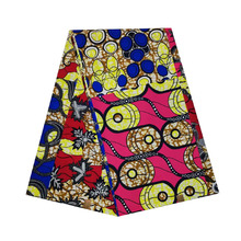 African wax veritable dutch Printed in fabric block wax 100% cotton 6yards ankara high quality for african woman V-L 543 2019 african wax veritable dutch printed in fabric block 100